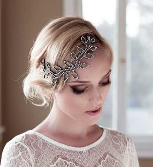 Bridal Short formal Hairstyles-15