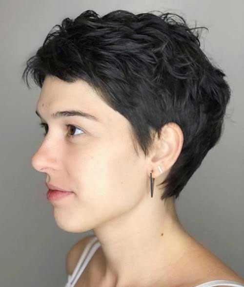 Short Textured Pixie Haircuts-16