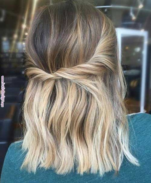 Twisted Easy Hairstyles for Short Hair-17