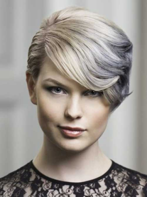 Short formal Blonde Hairstyles-19