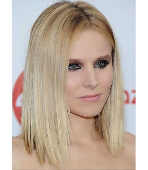 Straight Short Hairstyles for Thin Hair-19