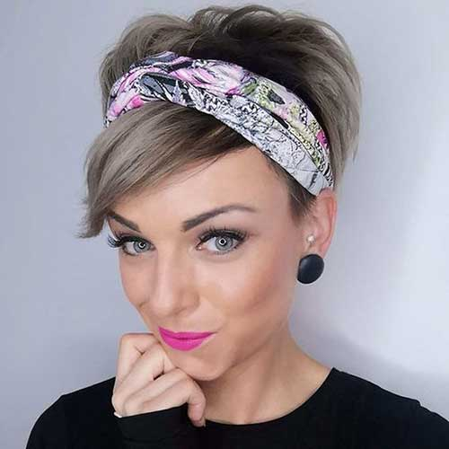 Short Bandana Pixie Haircuts-20