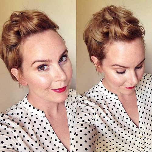Easy Short formal Hairstyles-20