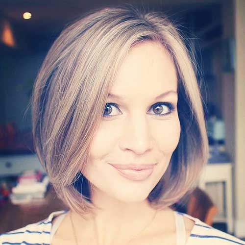 Modern Short Hairstyles for Thin Hair-20