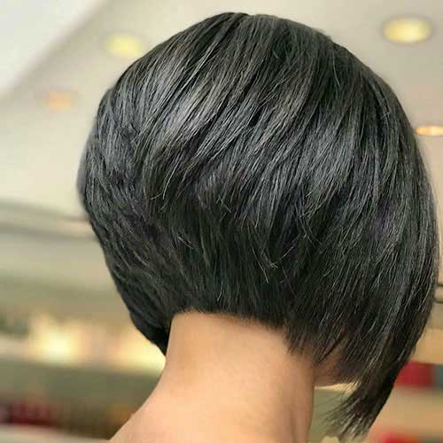 30 Back View Of Short Layered Haircuts Eazy Vibe