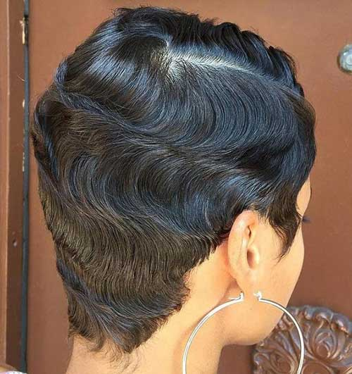 Back View Pixie Haircuts for Black Women-6