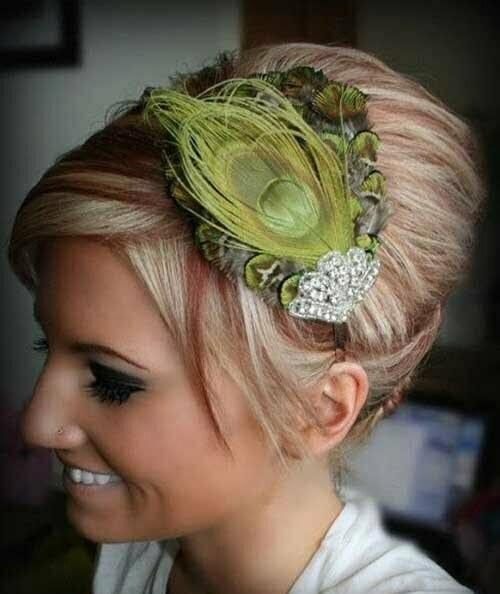 Short formal Headband Hairstyles-7