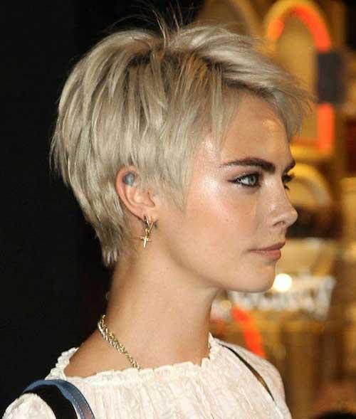 Cara Delevingne Short Pixie Haircuts-14