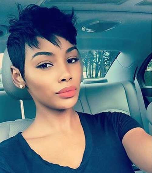 Pixie Haircuts for Black Women