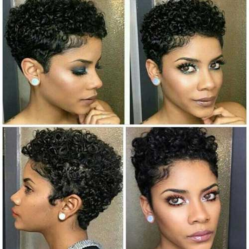 Short Hairstyles For Black Women Archives Short Haircut Com
