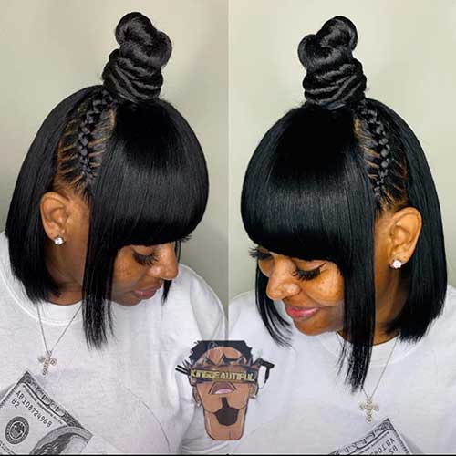 25+ Cute Short Black Haircut Ideas