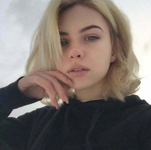 Short Summer Blonde Hairstyles-10