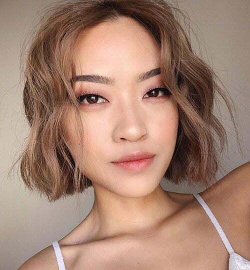 Short Fine Wavy Hairstyles-10