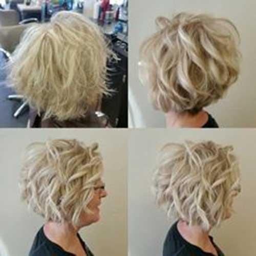 Short Curly Hair For Older Women
