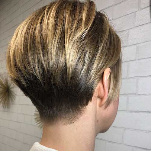 Short Layered Hairstyles For Fine Hair