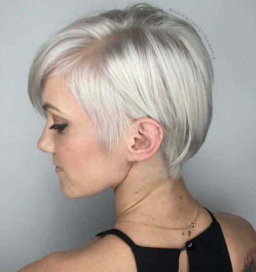 Modern Short Hair Styles-16