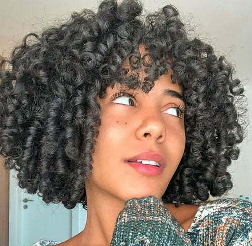 Short Summer Curly Hairstyles-20