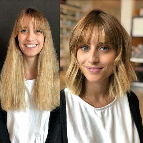 Before and After Bob Style Haircuts 2019-7