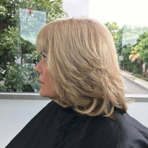 Layered Medium Bob Haircuts-9