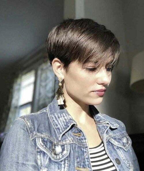 15 Super Pixie Haircuts For Fine Hair Short Haircut Com