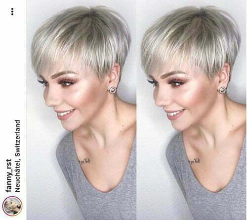 Short Pixie Haircuts for Fine Hair
