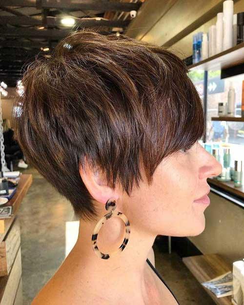 Layered Short and Sassy Haircuts-10