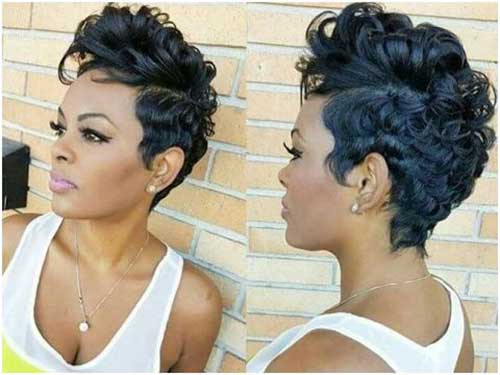 Short Haircuts for African American Women-12