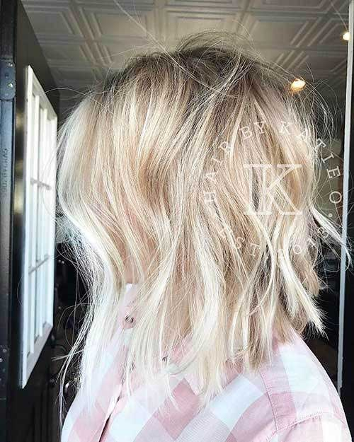 Short Choppy Layered Hair-13