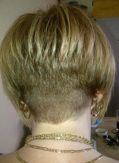 Stylish Short Stacked Bob Haircuts Short Haircut Com