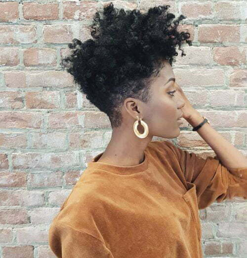 Tapered Natural Hairstyles for Short Hair-14