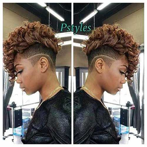 Short Haircuts for African American Women-15