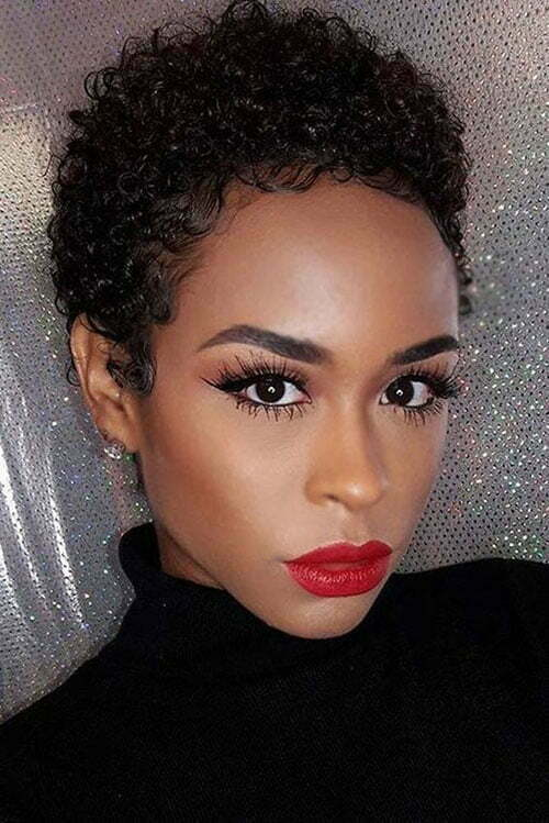 Style Up Natural Hairstyles for Short Hair-15