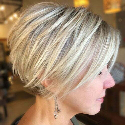 Short Pixie Bob Hairstyles for Fine Thin Hair-15