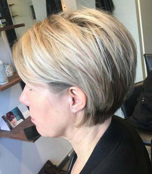 Short Stacked Bob Haircuts-17