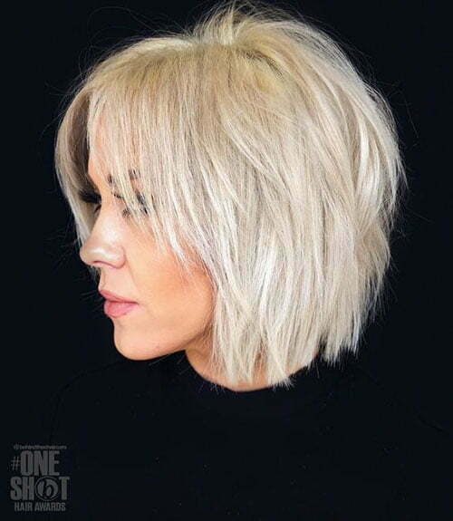 Top 20 Short Hairstyles For Fine Thin Hair