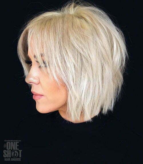 Top 20 Short Hairstyles For Fine Thin Hair Short Haircut Com