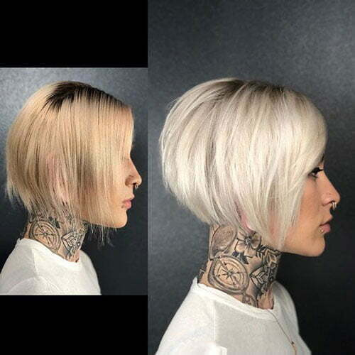 Short Stacked Bob Haircuts-18