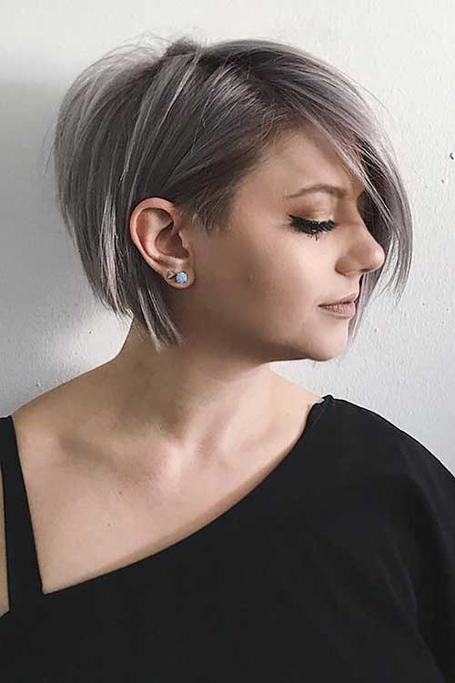 Modern Short Haircuts for Women-19
