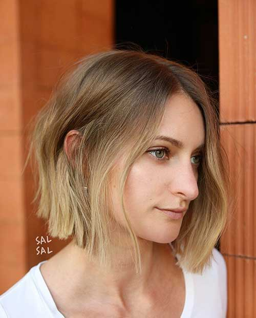 Short Choppy Layered Hair-19