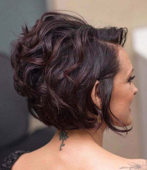 Short Haircuts for Women with Thick Hair-19
