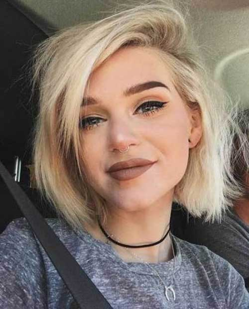 Modern Short Haircuts for Women-22