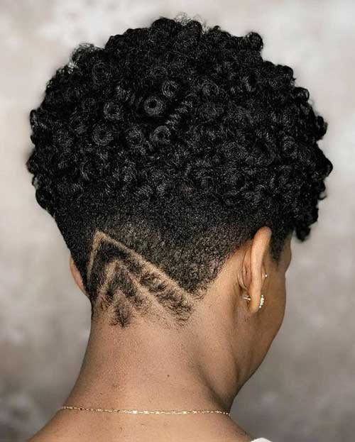 Short Haircuts for African American Women-24