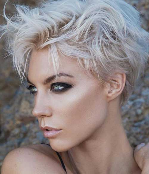 Modern Messy Short Hair for Women-6