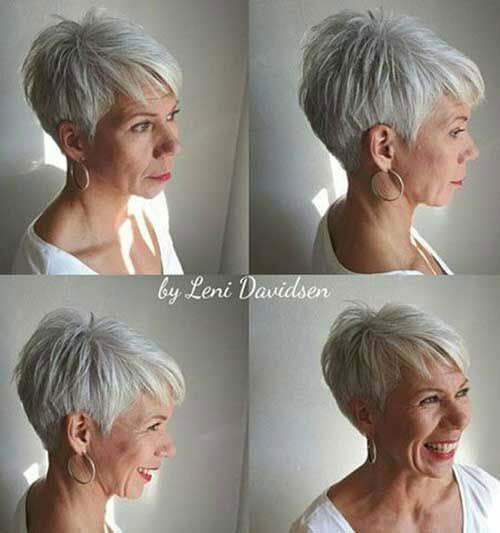 Modern Short Hairstyles for Fine Thin Hair-6