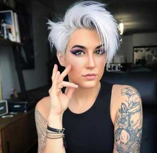Short and Sassy White Haircuts-6