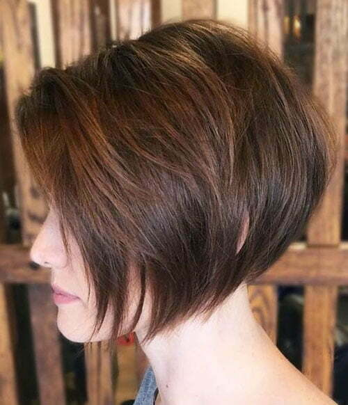 Short Stacked Bob Thick Haircuts-6