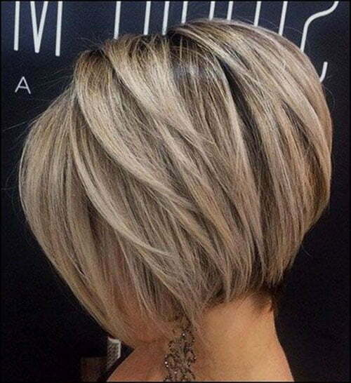 Blonde Short Stacked Bob Haircuts-7