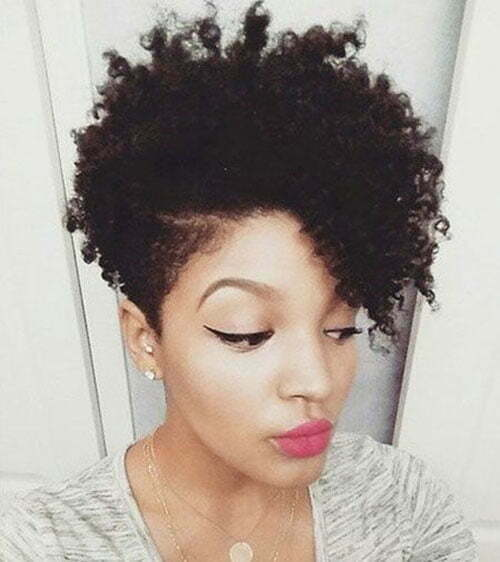 Natural Hairstyles for Short Hair-7