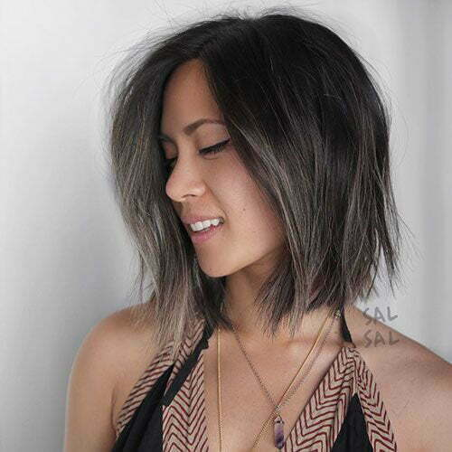 Short Layered Hairstyles for Fine Thin Hair-7