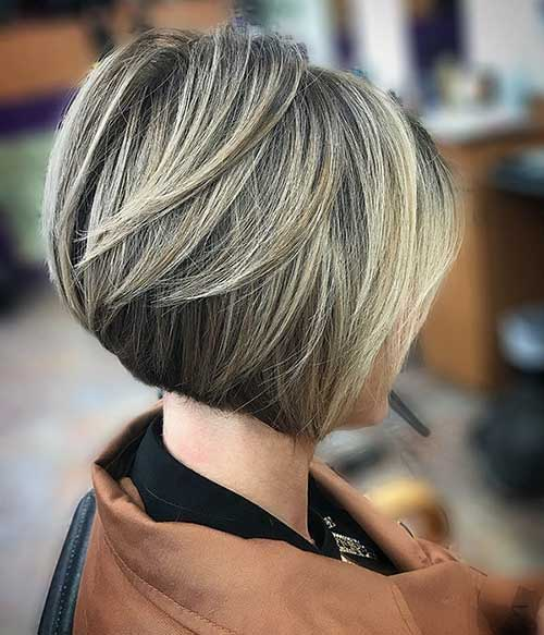Modern Cute Short Bob Haircuts for Women-8